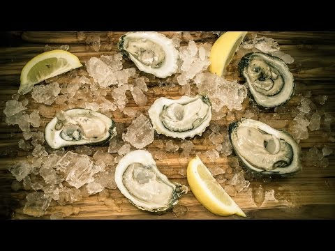 Cleaning and Shucking Oysters