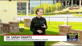 Diabetes Awareness | Fox 11 Fieldhouse | Aurora BayCare Endocrinology