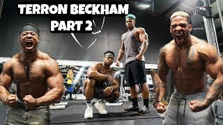 Maxing Out On Deadlifts With Terron Beckham