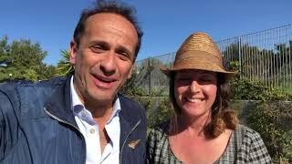 Uccio De Santis con Lucia Urbano