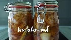 Krustentier-Fond im Ofen kochen und haltbar machen. Gourmondo Angeberwissen.