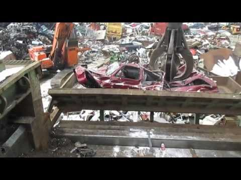 Car Crusher @ Key City Recycling