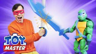 Черепашки Ниндзя против Той Мастера? Новые игры битвы для мальчиков. Видео с супергероями онлайн.
