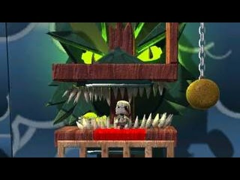 LittleBigPlanet 2 - God of War - The Aegean Sea - Hydra Battle