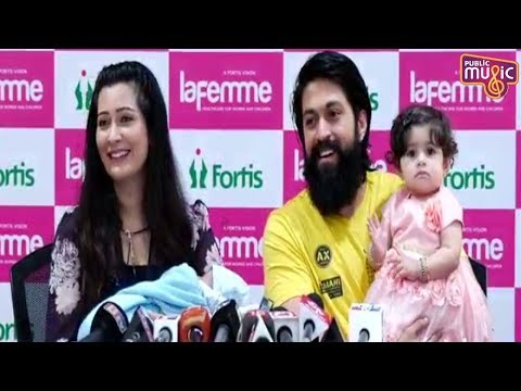 Rocking Star Yash Speaks About His Son & Radhika Pandit's Health thumbnail