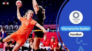 Oranjehandbalsters klaar voor kwartfinale   samenvatting Nederland - Montenegro   Tokyo 2020