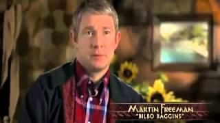 The Hobbit (2012) - An Unexpected Dinner Party (BEHIND THE SCENES)
