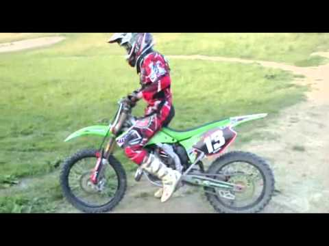 Mx Sezona 2011 Kawasaki Kx 125 Youtube