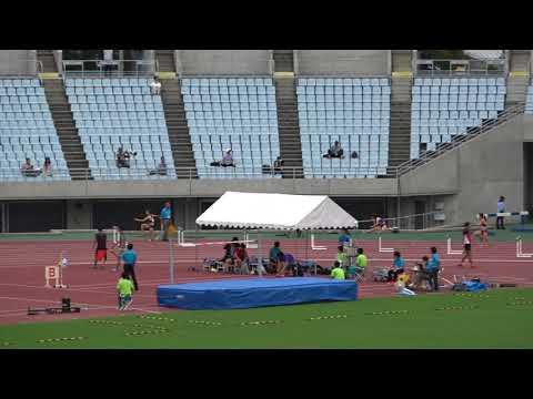 Nat'l Corp Champ2017 Women's400mH heat2 Haruka SHIBATA59.83 芝田陽香 梅原紗月 大谷友梨恵