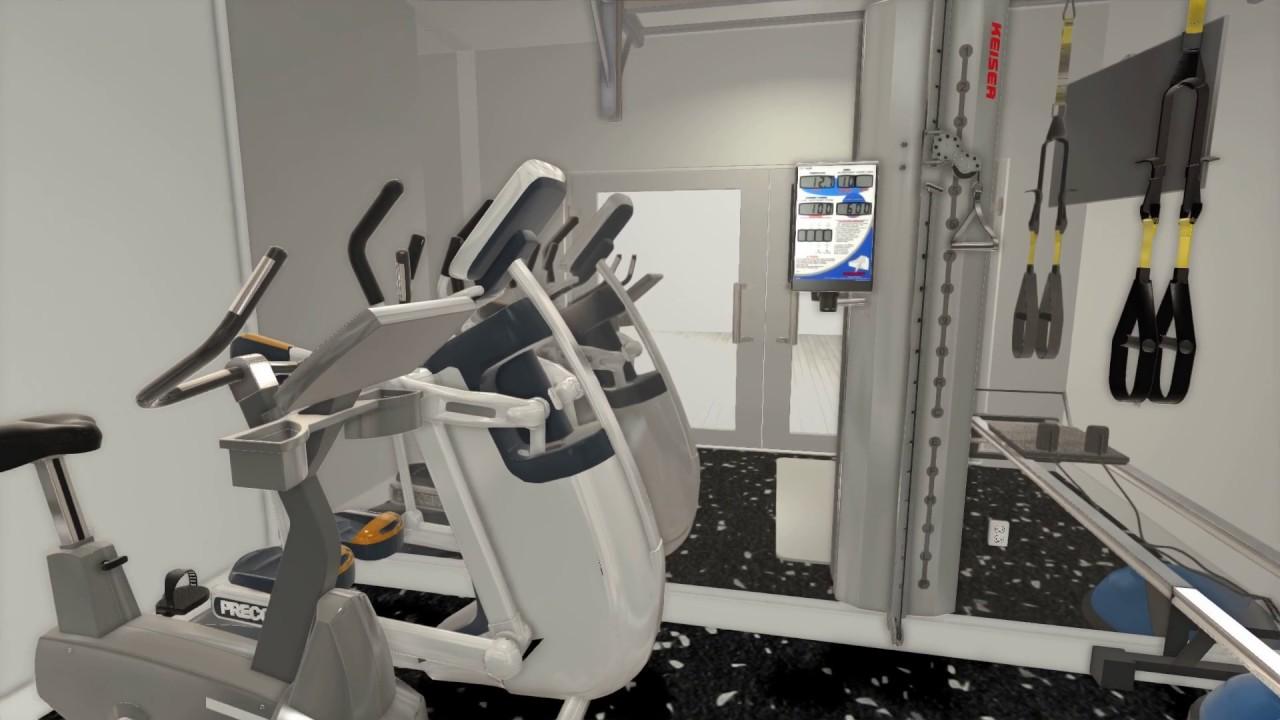 Best Kitchen Gallery: Custom 3d Home Gym Interior Design Layout 1 By Fs2 Training Llc of Home Gym Design Layout  on rachelxblog.com
