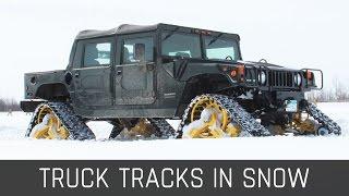 Snow | Truck Tracks