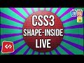 Is it possible to wrap text inside a circle? Let's hack CSS3