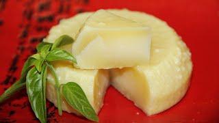 Очень твердый домашний сыр