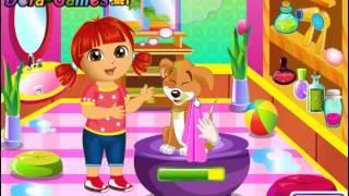 Dora Puppy Caring (Даша заботится о щенке) - прохождение игры