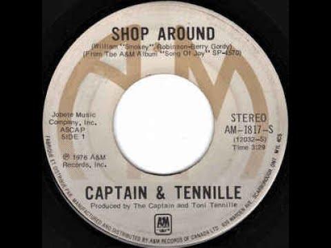 SHOP AROUND - The Captain & Tennille  (1976)