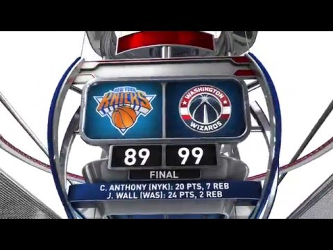 New York Knicks vs Washington Wizards - March 19, 2016