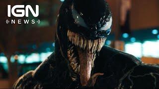 Where's Venom's White Spider Logo? - Comic-Con 2018