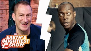Cash Cab's Ben Bailey, Marvel's Iron Fist stunts and more! | Earth's Mightiest Show