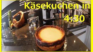 Schneller Käsekuchen in 4 Minuten 30 - Fast Cheesecake