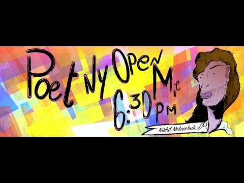 PoetNY Open Mic feat. MC Paul Barman [#102]