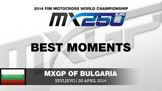 EMX250 Round of Bulgaria 2014 Highlights - Motocross