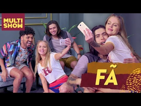 Os Roni conseguem sua primeira FÃ Luísa Sonza tieta Whindersson 😍  Os Roni  Humor Multishow