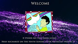 20200809 Holy Eucharist service