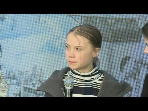 AFP: Davos: les revendications climat