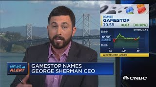Gamestop Names George Sherman As New Ceo