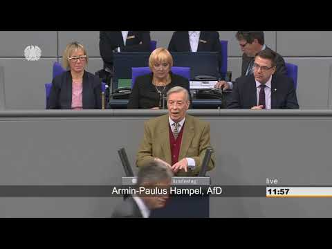 """Armin Paulus Hampel (AfD) """" Der Euro wird zusammenbrechen """""""