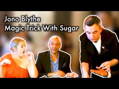 "Jono Blythe, Close-Up Magician ""Sugar Magic"""