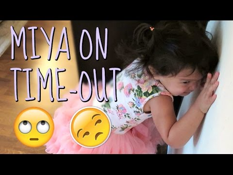Thumbnail: MIYA GOES ON TIME OUT - August 11, 2016 - ItsJudysLife Vlogs