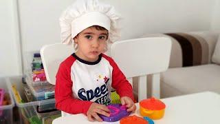 Buğra Hastalandı Doktor Muayene Etti Aşçı Berat Çorba Yaptı