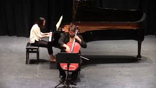 Brahms F Major Sonata Op. 99 - Allegro vivace, Tyler James and Ruiqi Fang
