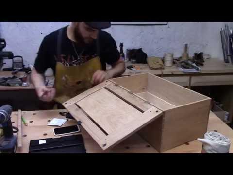 [Travail Du Bois] Part.1 - Coffre à outils d'ébéniste  (David Barron's chest)