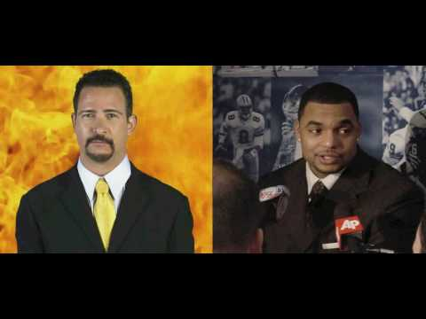 "Jim Rome on Richard Seymour  aka ""Hulk Hogan"" Pulling Hair, ""Brother!"""