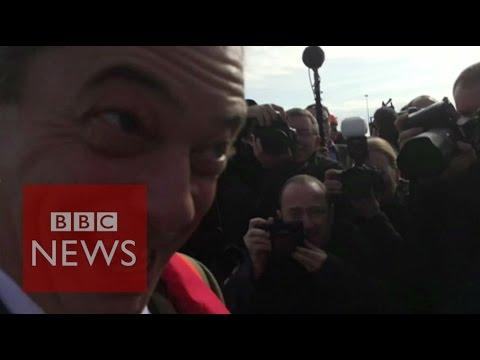 Nigel Farage is 'a reem guy' says Joey Essex - BBC News