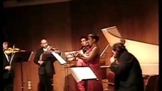 Telemann C Major Recorder Concerto 4 Tempo di Minuet