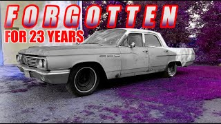 FORGOTTEN 1963 Buick LeSabre - WILL IT RUN After 23 Years? (P1)