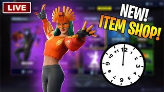 *NEW* ITEM SHOP LIVE COUNTDOWN! New Fortnite Skins March 7th LIVE! (Fortnite Item Shop Live)
