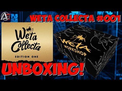 Weta Collecta Box #001 - UNBOXING!