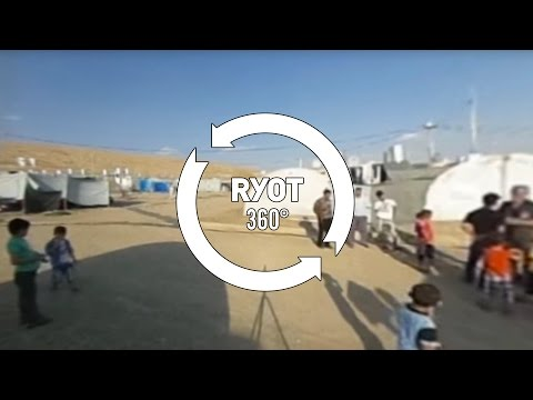 Essyan Refugee Camp: A 360° VR Experience