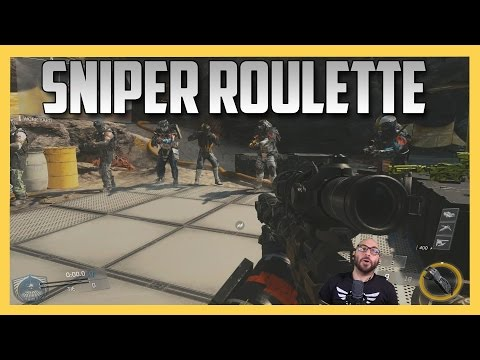 Sniper Roulette on Grounded in Infinite Warfare - DEATH PENALTY