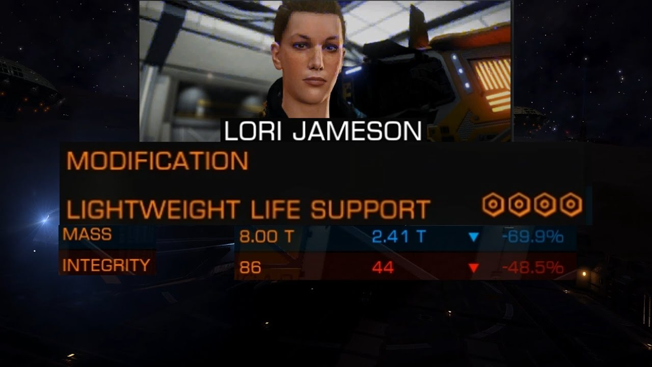 Elite Dangerous: How To Lightweight Life Support