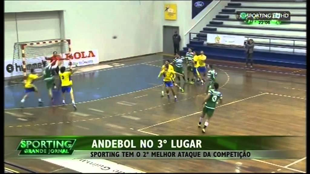 Andebol :: 11J :: Xico Andebol - 22 x Sporting - 31 de 2014/2015