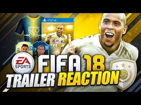 FIFA 18 TRAILER REACTION!