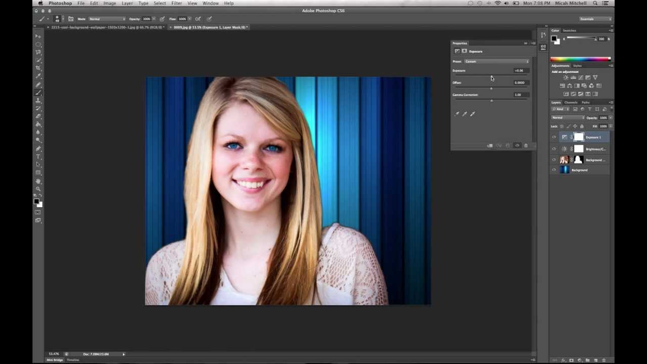 How to Remove/Change Background - Layer Mask & Quick ...