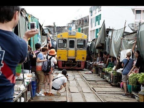 Maeklong Railway Market | Bangkok Thailand