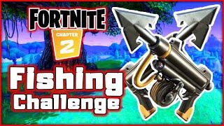 Fortnite! Slurpentine! Fishing Items Only Challenge!   Blitzwinger