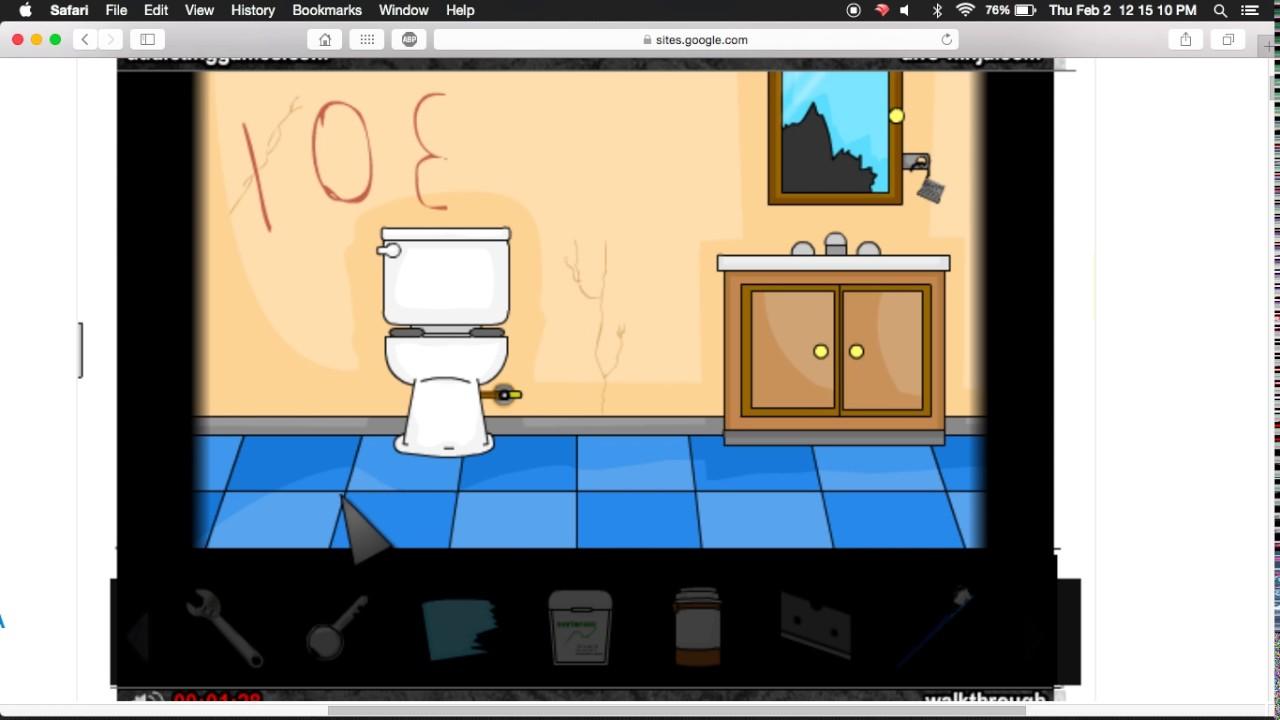 Escape The Bathroom Walkthrough - YouTube